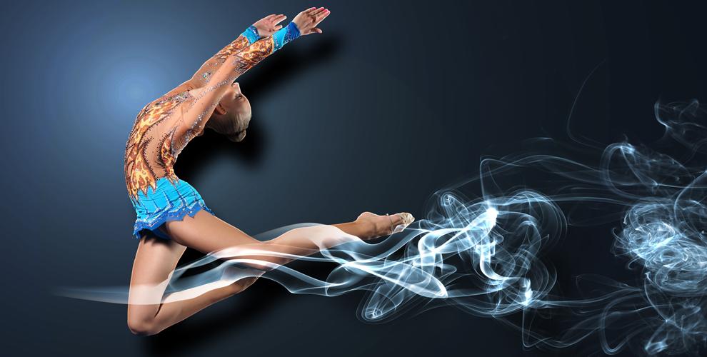 Занятия длядетей вклубе эстетической гимнастики «Легенда»