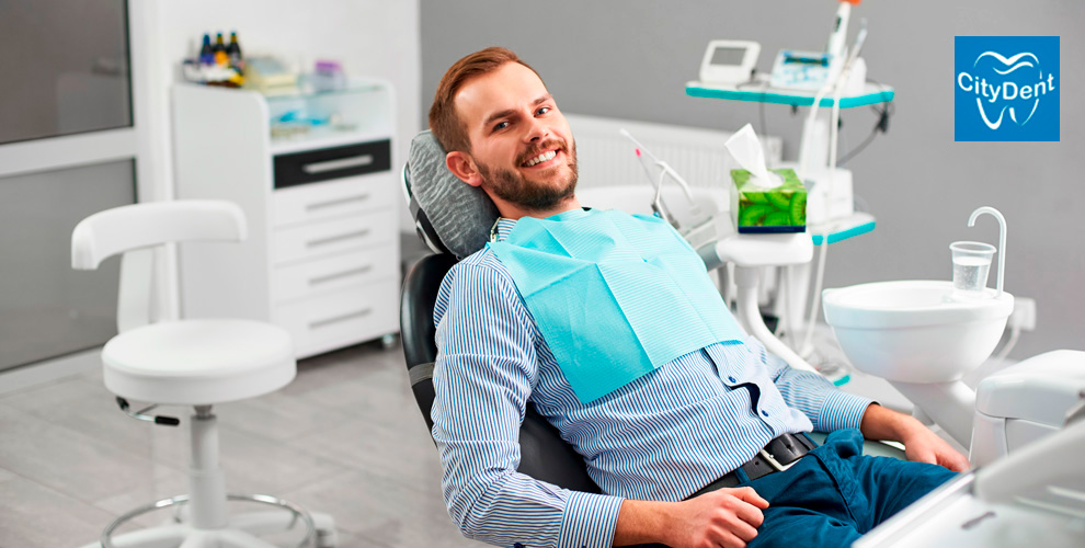 Консультация, гигиена, лечение кариеса, удаление зубоввстоматологии «СитиДент»
