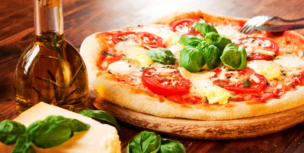Меню пиццы, салатов, пасты, чаяикофе витальянской пиццерии Palermo