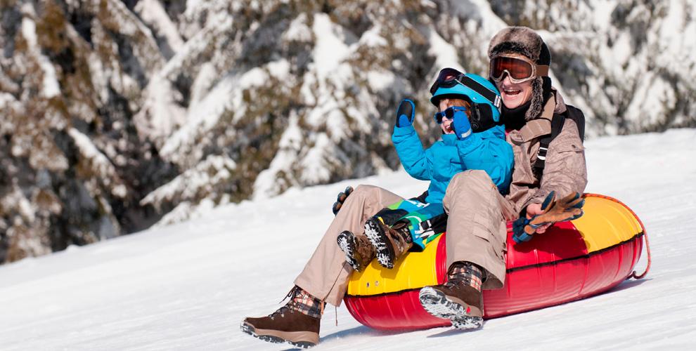 Прокат тюбинга, горных лыж, сноуборда, ботинок и крепления в компании WildWay