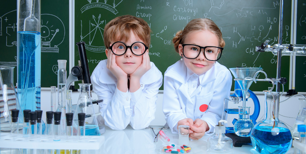 Детские мастер-классы на выбор в центре «МЕНДЕЛЕЕВ»