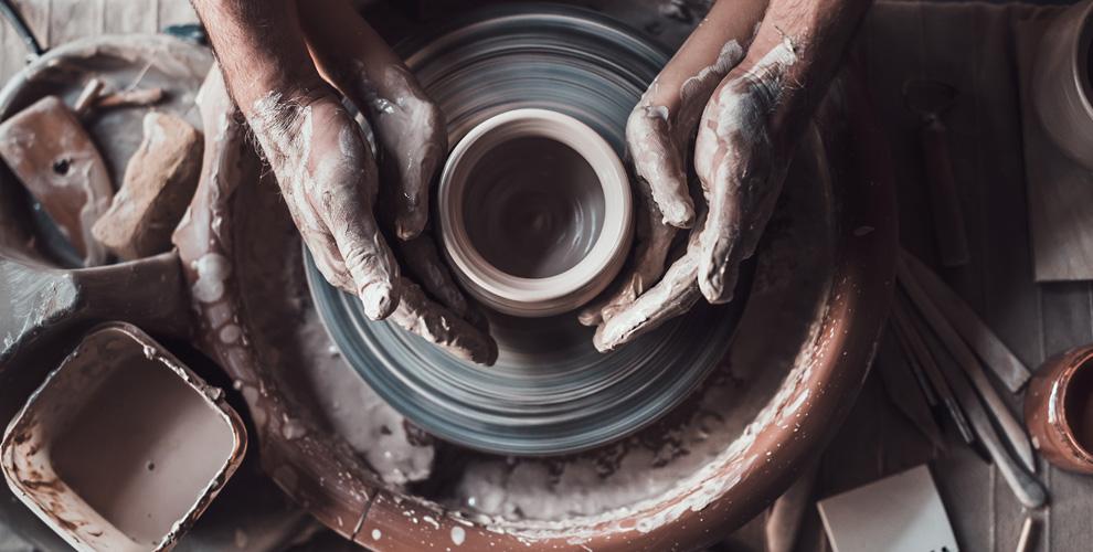 Мастер-классы по гончарному мастерству, лепке из глины в студии MasterstvoMsk