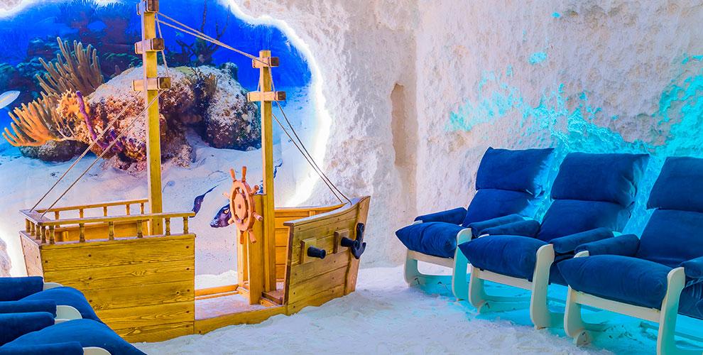 Посещение соляной пещеры «Айдасоль» для детей и взрослых