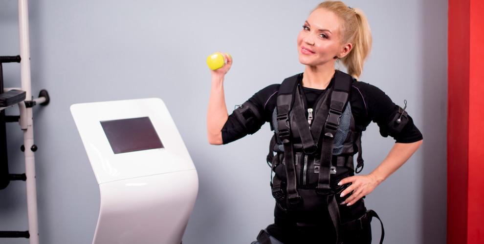 Индивидуальные EMS-тренировки вклубе «Эрудит»