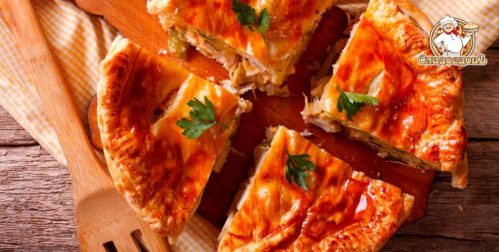 Сытные осетинские и овощные пироги с картофелем и капустой от компании «СладоедовЪ»