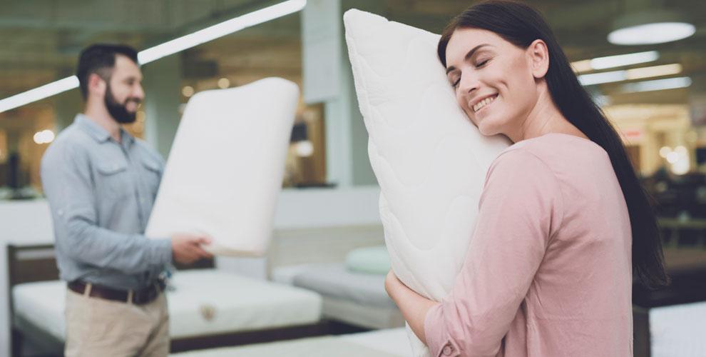 Ортопедические подушки и бамбуковые пледы в интернет-магазине «Амарон»