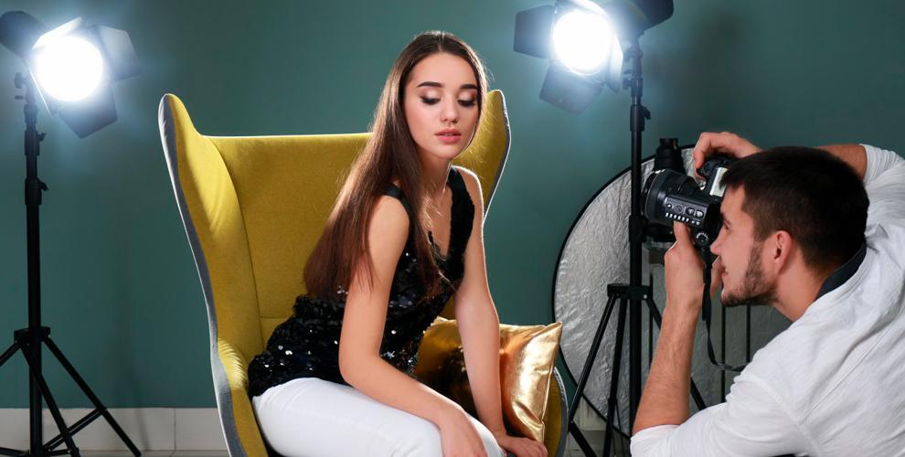 Профессиональная студийная фотосессия для 1 или 2 человек в фотостудии Inside Photo