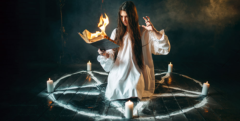 Участие в квест-локации «Темная магия» от компании «Кто там?»