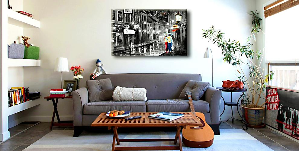 Печать фото или картины на холсте в компании «Принторама»