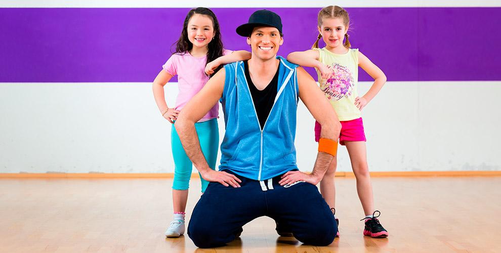 Занятия танцами для детей в школе Dance Castle