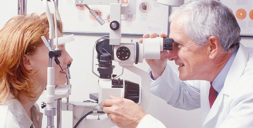 """Полное офтальмологическое обследование в медицинском центре """"Ладья"""""""