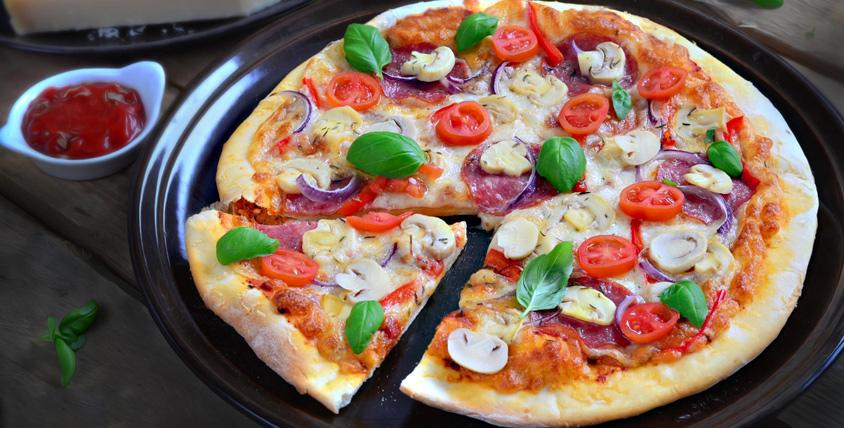 Вам не захочется делиться! Богатое меню пиццы с разнообразными начинками от службы доставки Milano Pizza