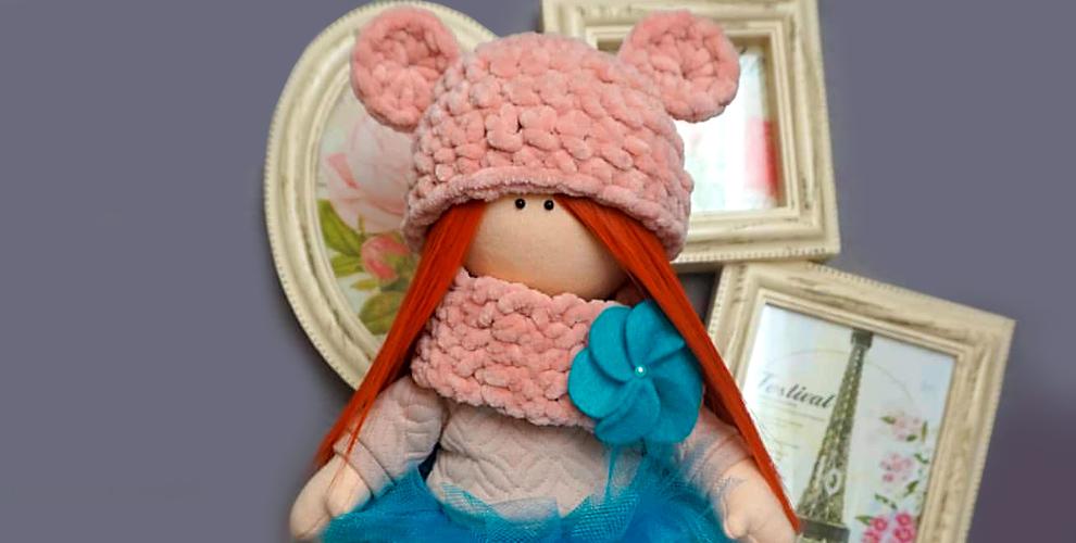 Кукла ручной работы, буквы-подушки и книжки из фетра от мастерской Натальи Зверевой