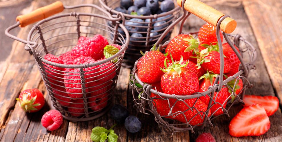 Клубника,малина иежемалина откомпании «Хорошая ягода»