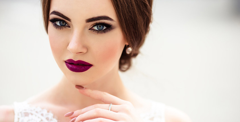 """Коррекция и окрашивание бровей и ресниц, а также нанесение макияжа на выбор в салоне красоты """"Косметология"""""""