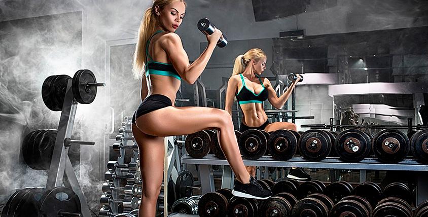 Посещение тренажерного зала в фитнес-клубе FERRUM Fitness