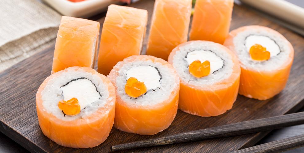 Меню японской кухни отресторана VipSushi