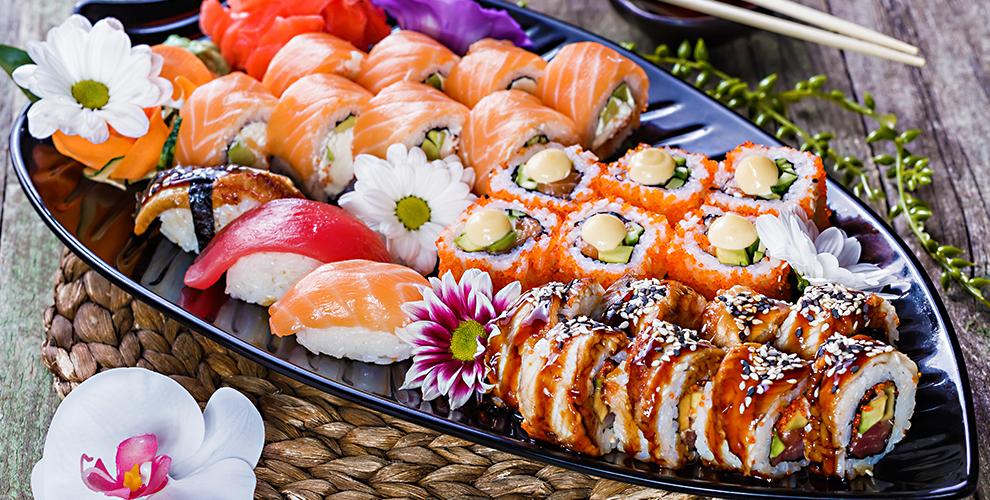 Все меню кухни и напитки в японском ресторане ProSushi