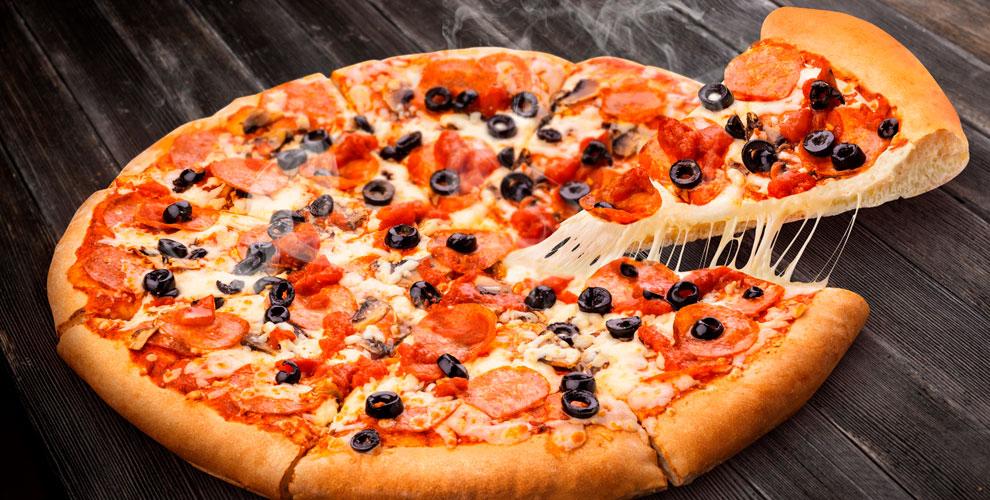 «Маргарита», «Манхэттен», «Супер Пепперони», «Гавайи» впиццерии NewYork Pizza