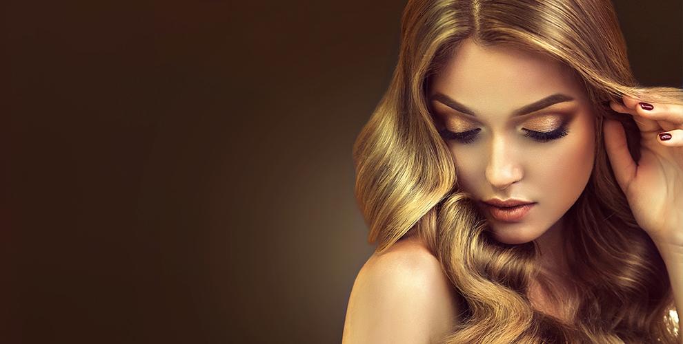Элос эпиляция, прическа «Локоны», макияж иоформление бровей всалоне «Элос-Екб»