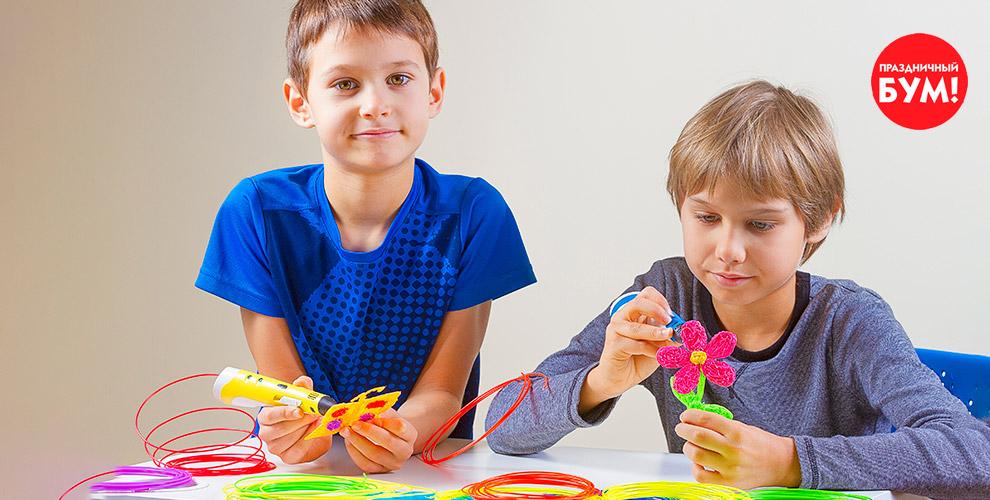 Безопасные 3D-ручки и картридж от сети магазинов «Праздничный Бум»