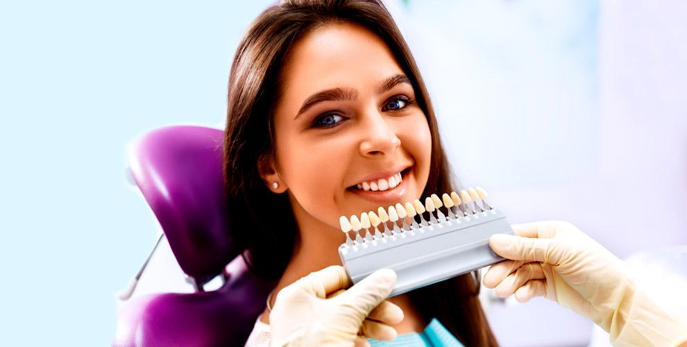 Отбеливание зубов в салоне красоты Olive