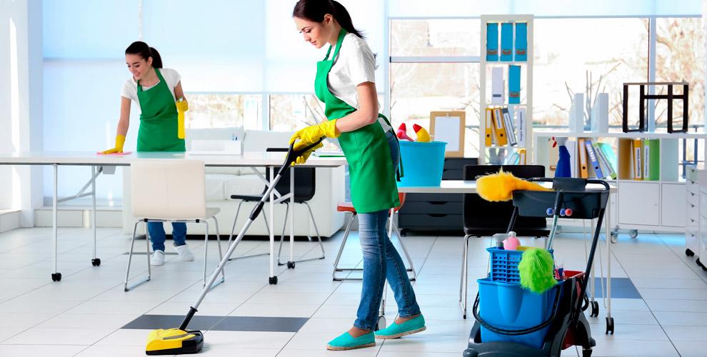 Комплексная игенеральная уборка помещений, мытье окон откомпании «Блеск»