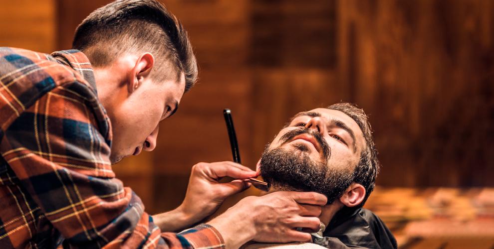 Мужская стрижка, оформление бороды иусов вбарбершопе Chester
