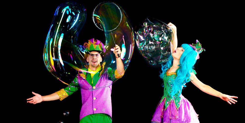 «Мультипраздник»: шоу мыльных пузырей и другие развлекательные программы