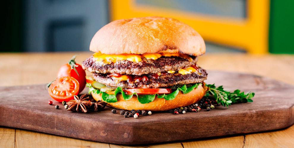 Flamers Burgers andChicken в ТРК «Вива Лэнд»: мороженое в рожке, комбо-наборы