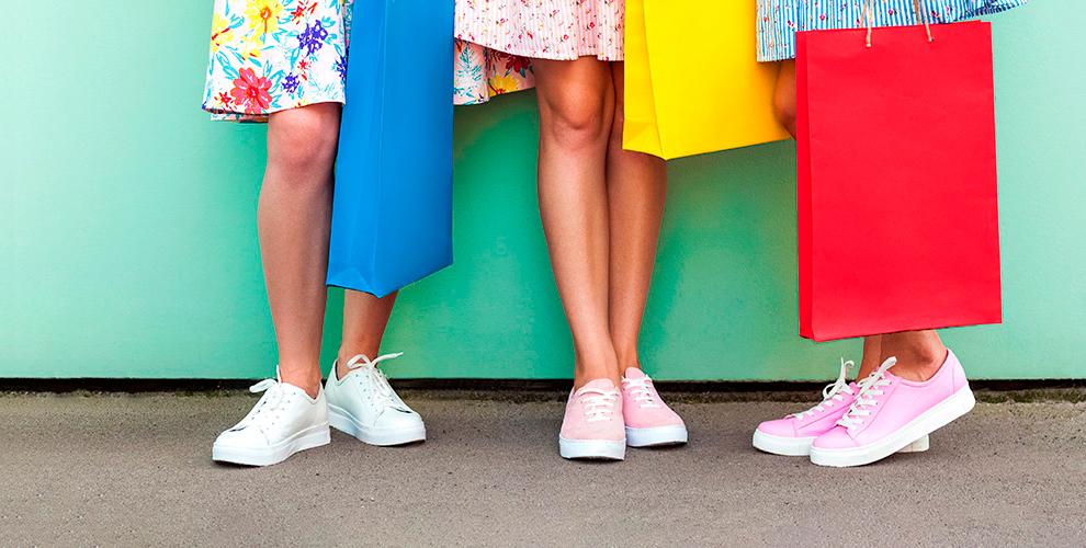 Ассортимент женских кроссовок в интернет-магазине Pavlena.ru
