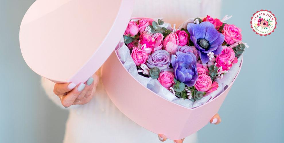 Цветочная лавка «Мама-Лия»: букеты, композиции, розы, ирисы, тюльпаны