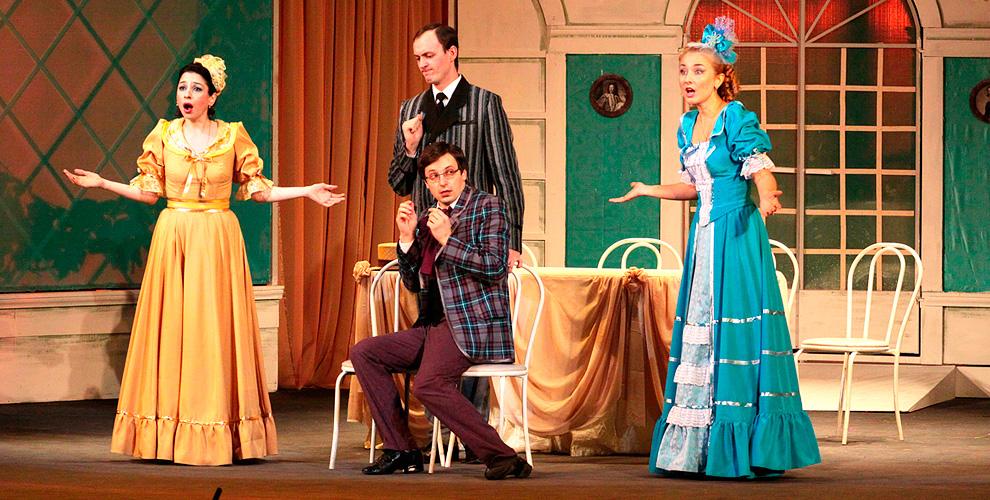 """Билеты на оперетту О. Фельцман """"Здрасьте, я ваша тетя!"""" в музыкальном театре """"Скерцо"""""""