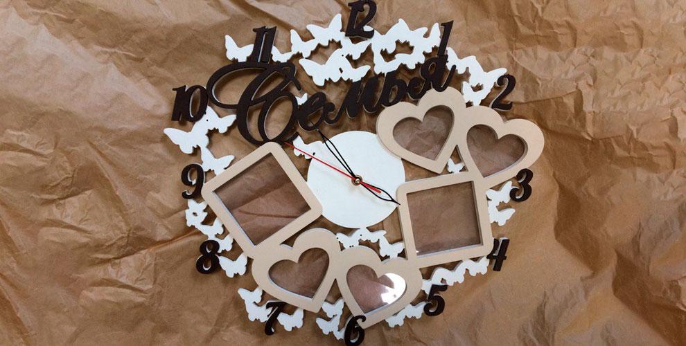 Компания Вeautifulwords: фотоколлажи, ключницы, часы и другие изделия из дерева