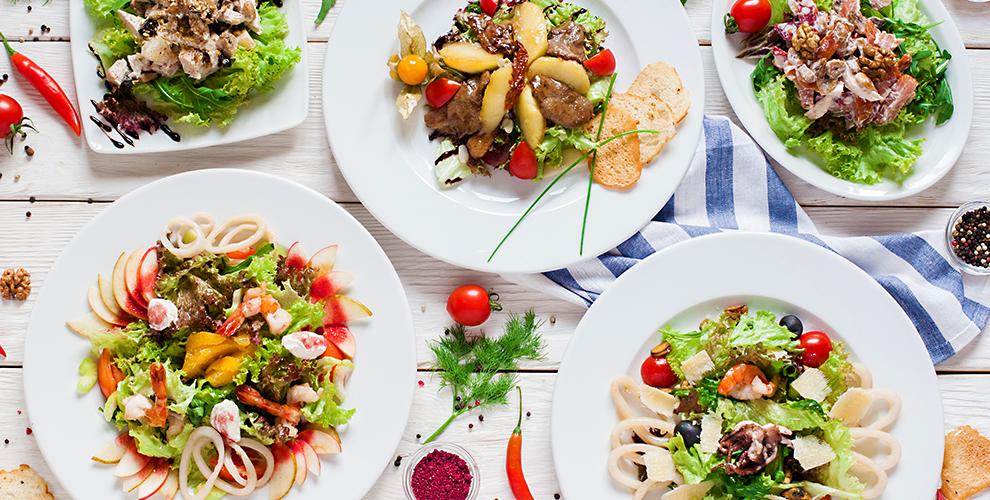 Банкетное меню, горячие блюда из мяса и рыбы, паста в ресто-пабе «Бакинец»