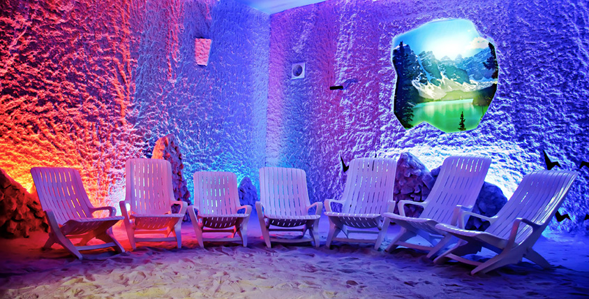 """Посещение соляной пещеры для детей и взрослых от компании """"Мирасоль"""""""