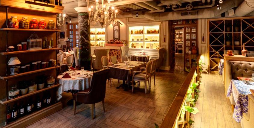 Все меню кухни, карта бара и безалкогольные напитки в ресторане грузинской кухни Largo