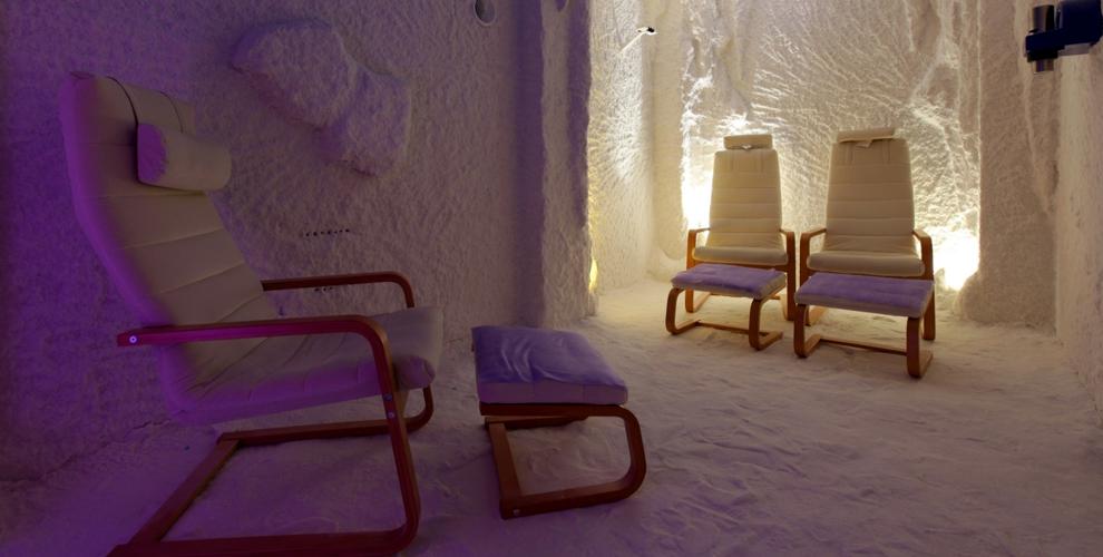 Посещение соляной пещеры «Польza» для взрослых и детей