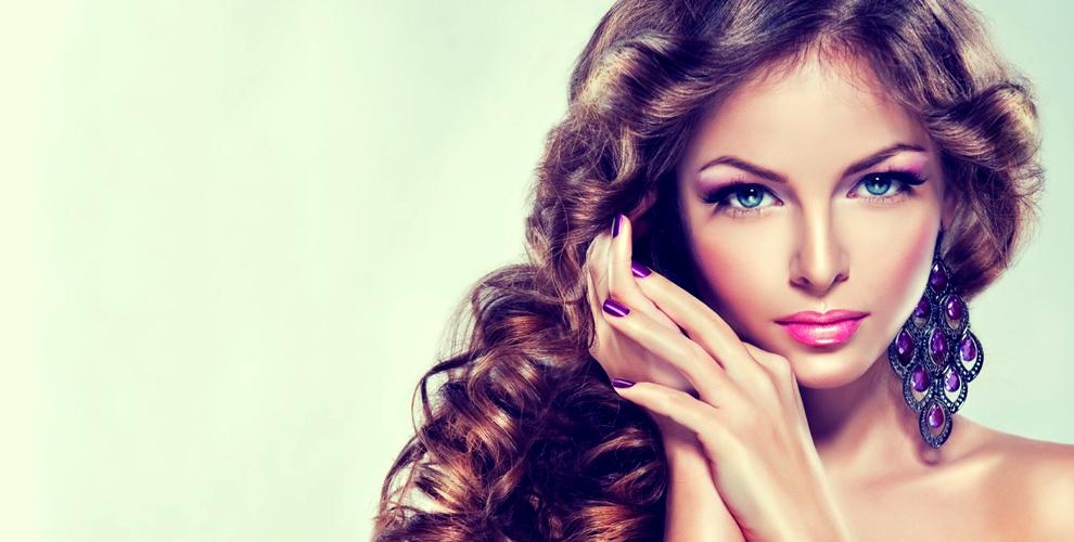 "Салон ""Вероника"" и Елена Гай: стрижки, окрашивание, маникюр, коррекция бровей"