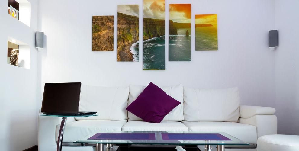 Печать любого изображения на натуральном холсте и другое от компании SUN Studio