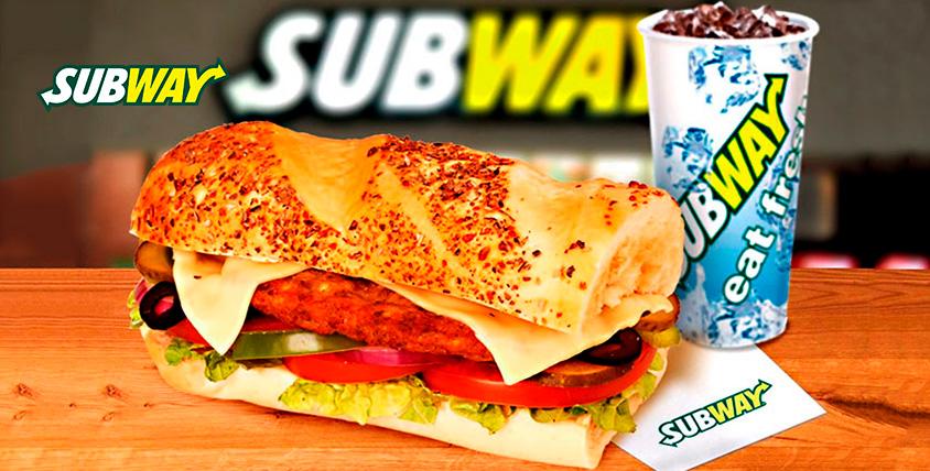Kомбо-набор от ресторана быстрого обслуживания Subway
