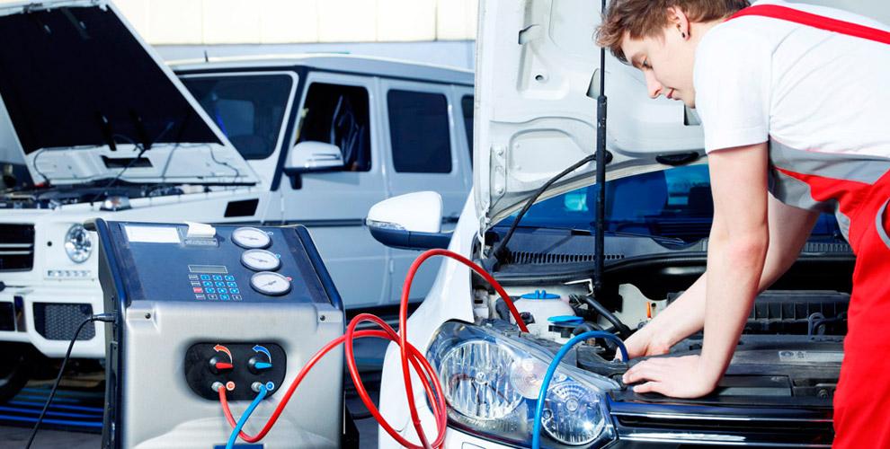 «Автогаз Сервис»: диагностика системы кондиционирования и заправка автокондиционера