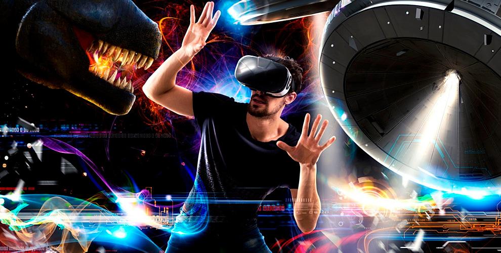 Игры вшлеме виртуальной реальности вклубе «МирVR»
