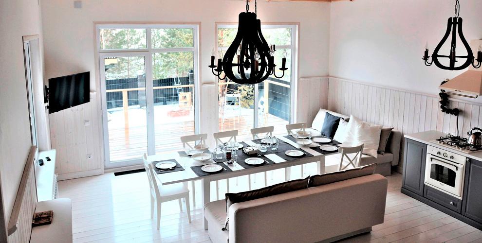 Проживание в гостевом доме «Дуплекс» или «Дача Дизайнера» на Увильдах