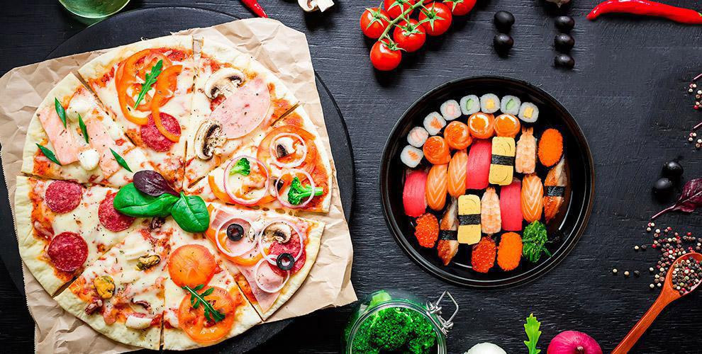 Пицца, суши, осетинские пироги, паста и не только от службы доставки «Конго Пицца»