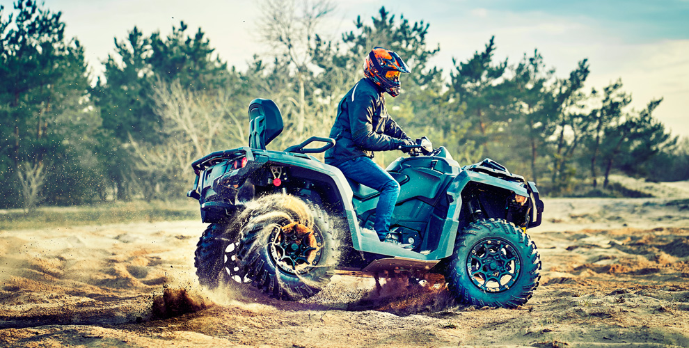 Катание на квадроцикле и кроссовом мотоцикле от компании PROMOT