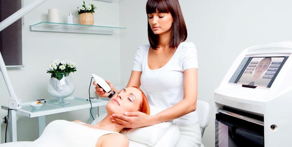 RF-лифтинг лица, шеи и зоны декольте в центре косметологии доктора Вороновой