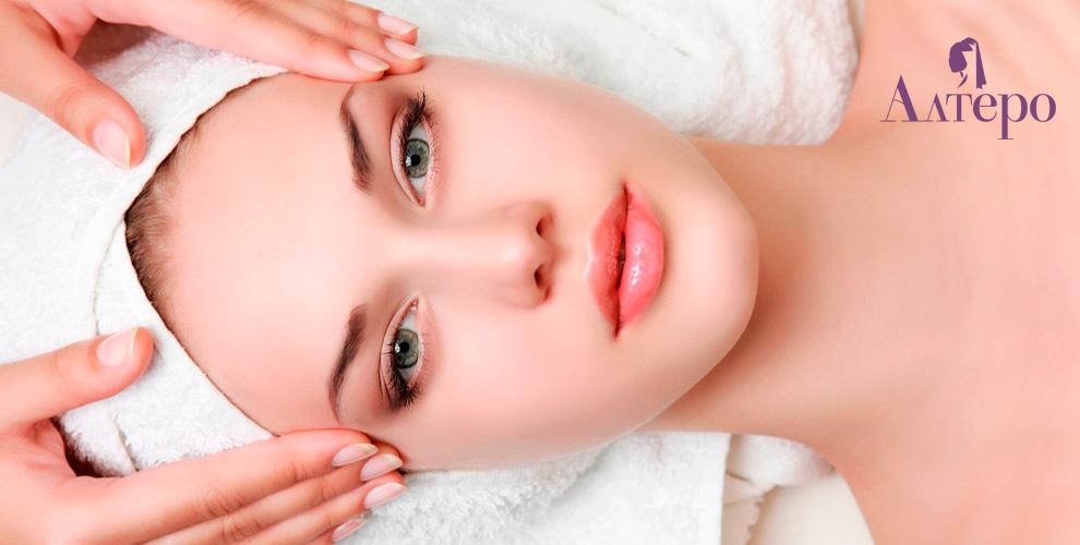«Алтеро»: консультация косметолога, пилинг, фотоомоложение и контурная пластика