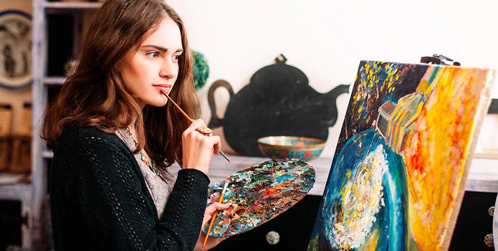 Студия «Арт-Джем»: занятия по масляной живописи для взрослых и детей