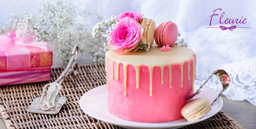 Изготовление торта от кондитерского дома Fleurie
